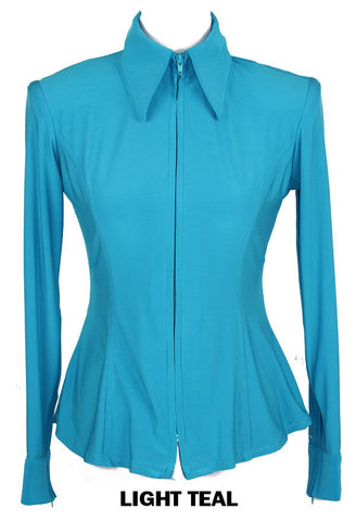 Light Teal Fitted ITY Shirt - Show Stoppin'
