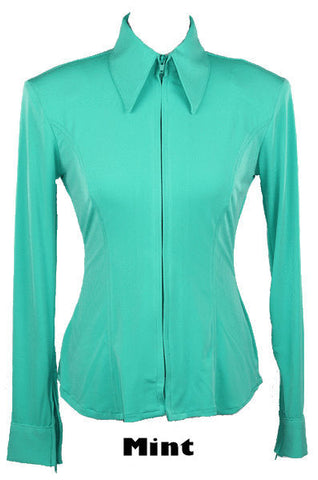 Mint Green Fitted ITY Shirt - Show Stoppin'
