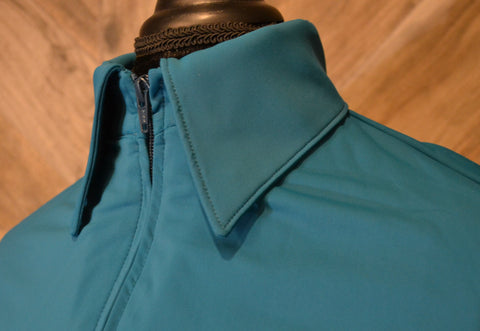 SS Ocean Blue Fitted Zip Up - Show Stoppin'