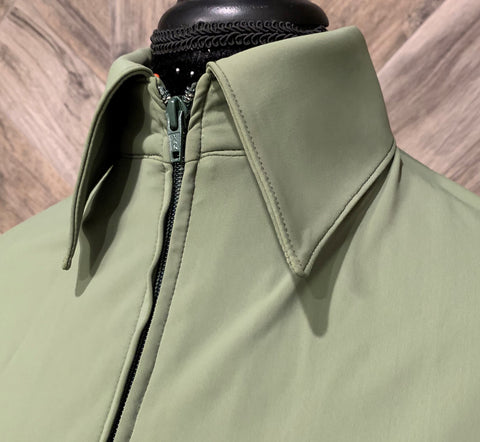 SS Olive Zip Up - Show Stoppin'