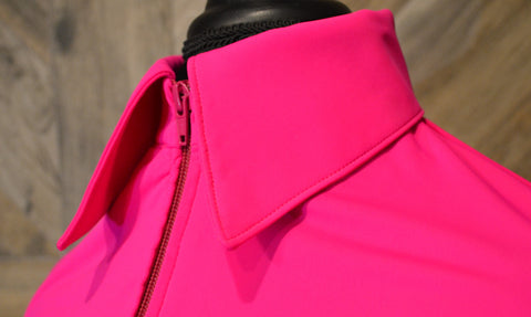 SS Pink Fitted Zip Up - Show Stoppin'