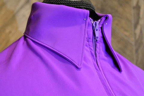 SS Purple Fitted Zip Up - Show Stoppin'