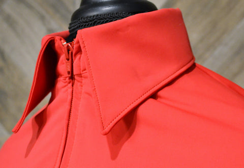 SS Red Fitted Zip Up - Show Stoppin'