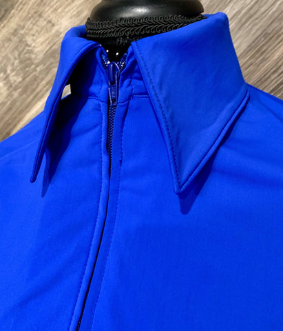 SS Royal Blue Zip Up - Show Stoppin'