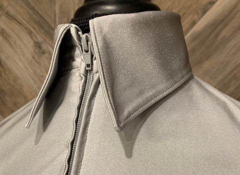 SS Silver Zip Up - Show Stoppin'
