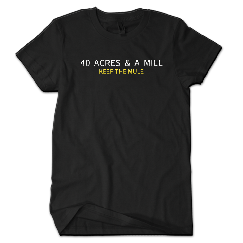 40 Acres & A MILL...keep the mule (Embroidery Stitching)