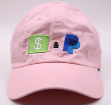 Pink Cash app & Paypal dad hat