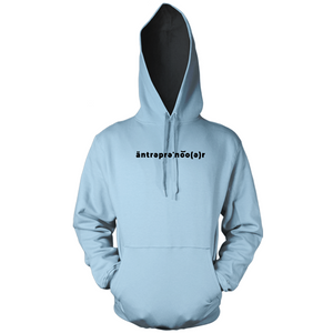 Real äntrəprəˈno͝o(ə)r Hoody (Embroidered Design)