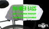 Pannier bags with waterproof and reflective covers
