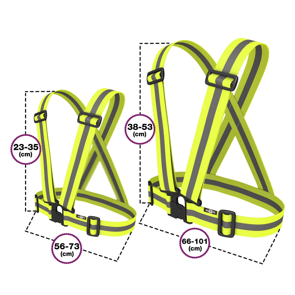 High Visibility Reflective Sash