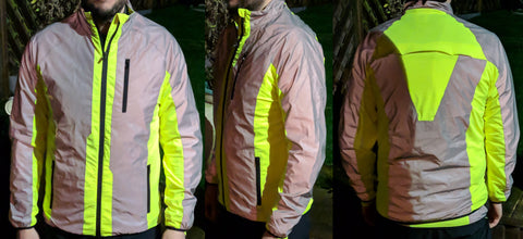 BTR High vis & reflective jacket from a customer