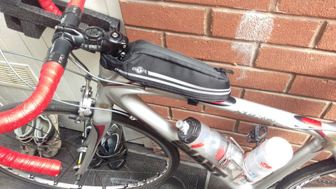 BTR slimline bicycle frame bike bag