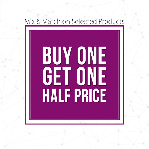 BTR Buy 1 Get 1 Half Price Special Offer Promotion