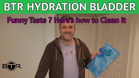 How to clean a BTR Hydration Bladder