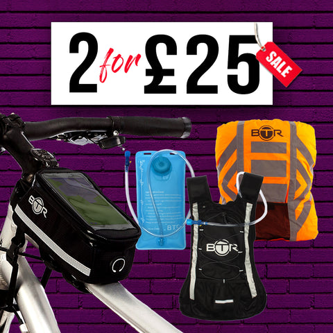 Buy 2 for £25 BTR Sports Accessories
