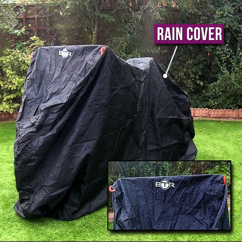 BTR Heavy Duty XL Rain Cover for Bike or Two Bikes