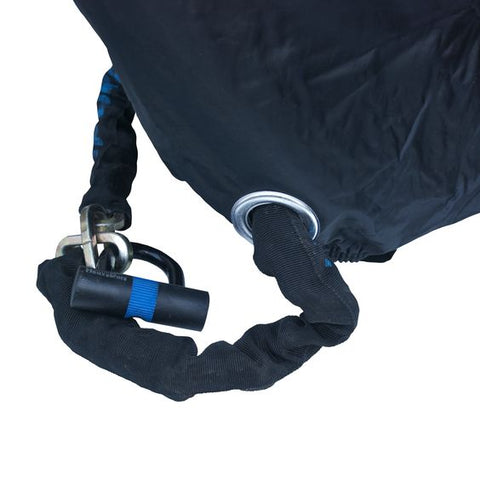 security features of the BTR XL heavy duty rain-proof bike cover