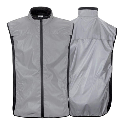 BTR Be Totally Reflective High Vis Cycling & Running Vest, Gilet 2-P (2 Pockets)