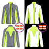 High Visibility Reflective Cycling & Running Jacket & High Vis Bands