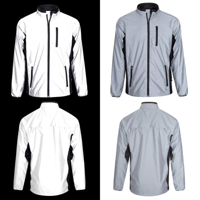 BTR Reflective Cycling High Visibility Jacket  **SECONDS**