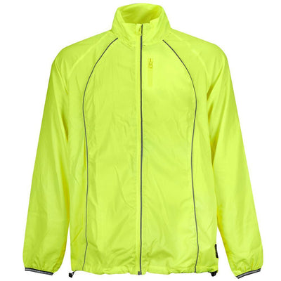 BTR High Visibility Running & Cycling Jacket With Reflective Bands