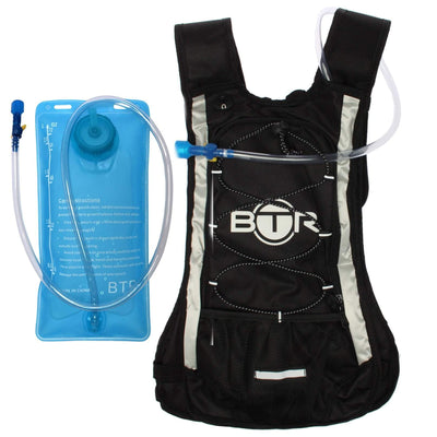 BTR Hydration Pack. Hydration Backpack & BPA Free Hydration Bladder