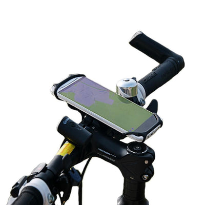 BTR Silicone Handlebar Mobile Phone Mount, Fits All Phones & Bikes