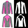BTR High Visibility Reflective Cycling & Running Jacket. High Vis