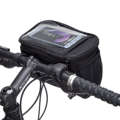 BTR Handlebar Bicycle Bag With Bike Mobile Phone Holder