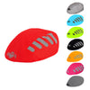 Waterproof high visibility reflective silver bicycle helmet cover
