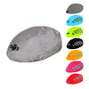 Waterproof high visibility fluorescent yellow bicycle helmet cover