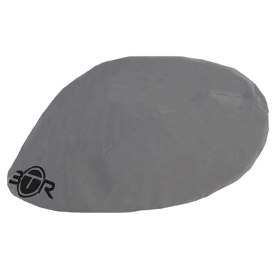 Waterproof high viz reflective silver bike helmet cover