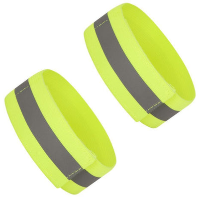 BTR High Visibility Reflective Cycling Helmet Cover & High Vis Bands