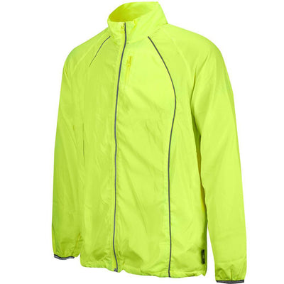 BTR Lightweight High Visibility Reflective Running & Cycling Jacket
