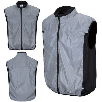 BTR High Visibility & Totally Reflective Running & Cycling Gilet & Vest