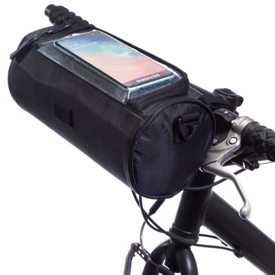 BTR Deluxe Cycling Handlebar Bike Bag and Bicycle Mobile Phone Holder