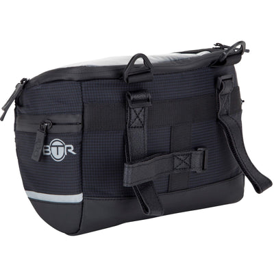 BTR Water Resistant Handlebar Bike Bag with Phone Navigation Pocket