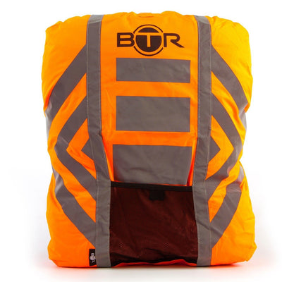 Waterproof High Vis Fluorescent Orange Reflective rucksack cover