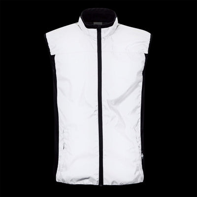 BTR Reflective High Vis Cycling & Running Vest, Gilet 2-Pockets (SECONDS)