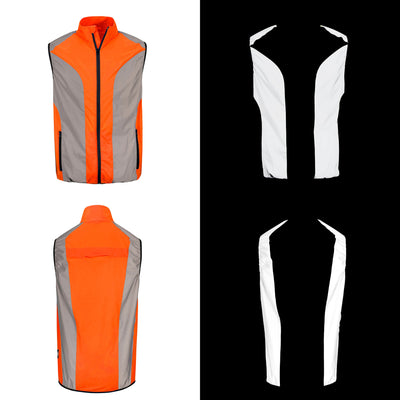 BTR Reflective High Vis Cycling Jacket Men & Women *SECONDS*