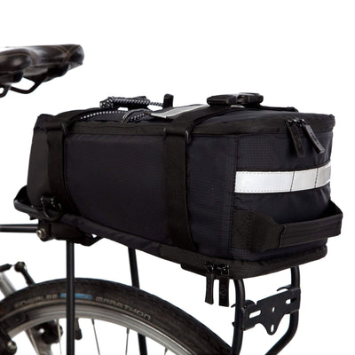 BTR Deluxe Rear Rack Bicycle Pannier Bike Bag With Shoulder Strap