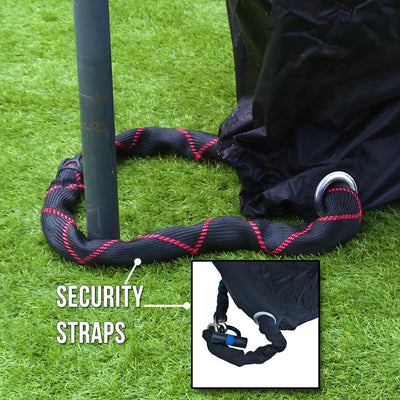BTR Heavy Duty Waterproof XL Bike Cover security strap image