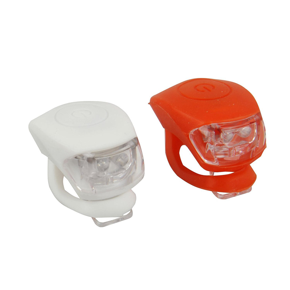 BTR Silicone Bicycle Front and Rear LED Bike Lights