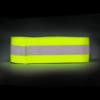 High Visibility Reflective Sash with Ankle & 2 x Arm / Leg Bands - Orange or Yellow