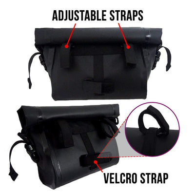 BTR Waterproof Bicycle Handlebar Bike Bag
