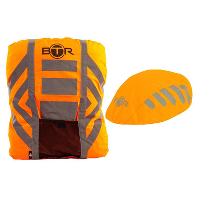 Waterproof High Visibility Reflective Backpack & Bike Helmet Cover