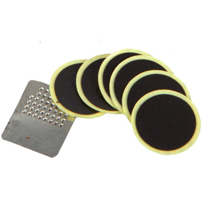 BTR Bicycle Tyre Self Adhesive Puncture Repair Patches x 6