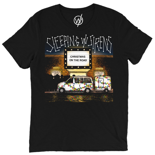 Xmas On The Road Tee