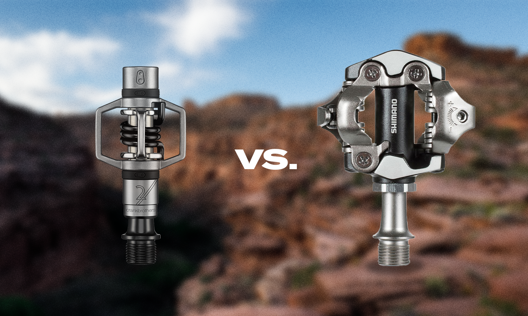 Crankbrothers vs. Shimano clipless mtb pedals