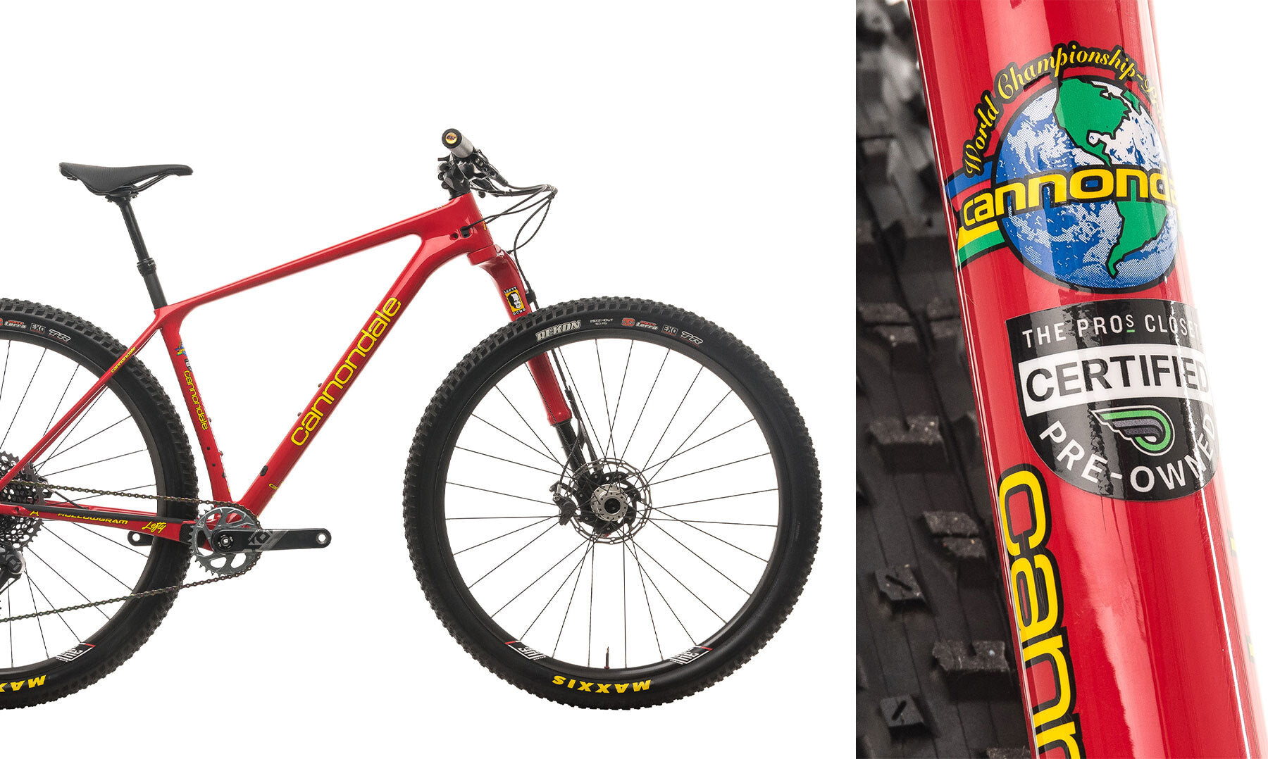 Cannondale viper red